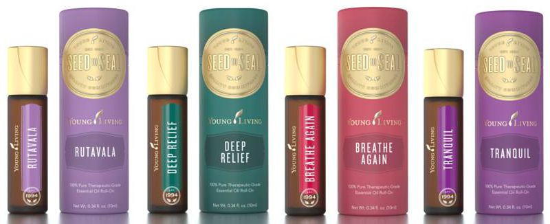 Young Living Roll On Blends Are Available Deep Relief