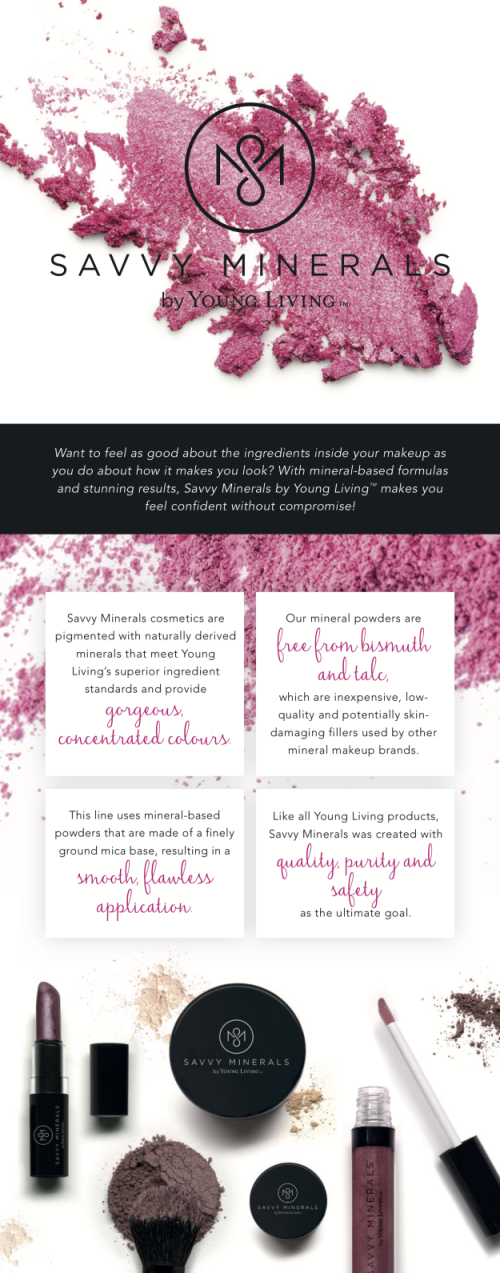 Why Choose Savvy Minerals Make Up www.EssentialOils4Sale.com