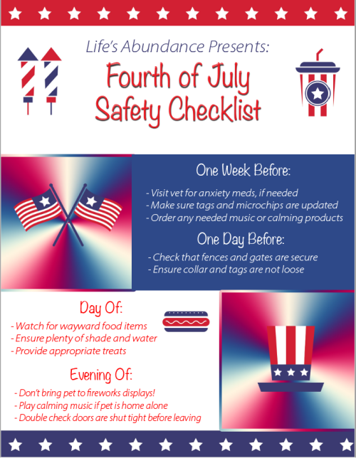 July-Fourth-Safety-Checklist www.HealthyPetPeeps.com