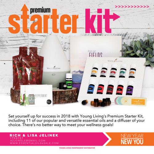 Premium Starter Kit www.EssentialOils4Sale.com