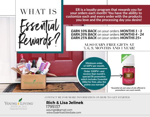 What Is Essential Rewards www.EssentialOils4Sale.com