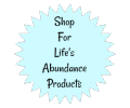Shop For Life's Abundance Products www.HealthyPetPeeps.com