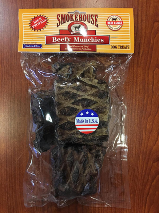 Smokehouse Beef Munchies Recall www.HealthyPetPeeps.com