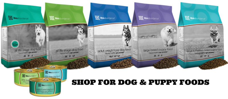 Shop for Dog and Puppy Foods www.AZJungle.com