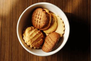 Buttery Pecan Protein Cookies www.HealthyPetPeeps.com