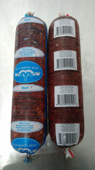 Blue Ridge Beef Recall Dog www.AZJungle