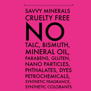 Savvy Minerals Cruelty Free www.EssentialOils4Sale.com