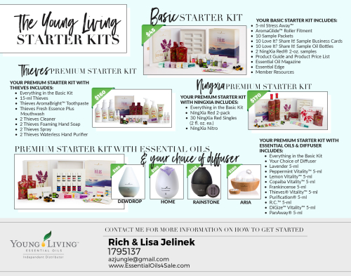 Starter Kits www.EssentialOils4Sale.com