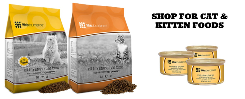 Shop for cat and kitten foods www.HealthyPetStop.com