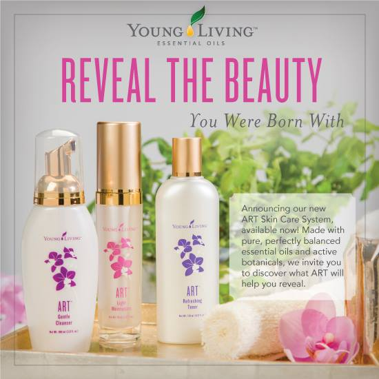 Young Living Introduces Newly Reformulated Art Skin Care