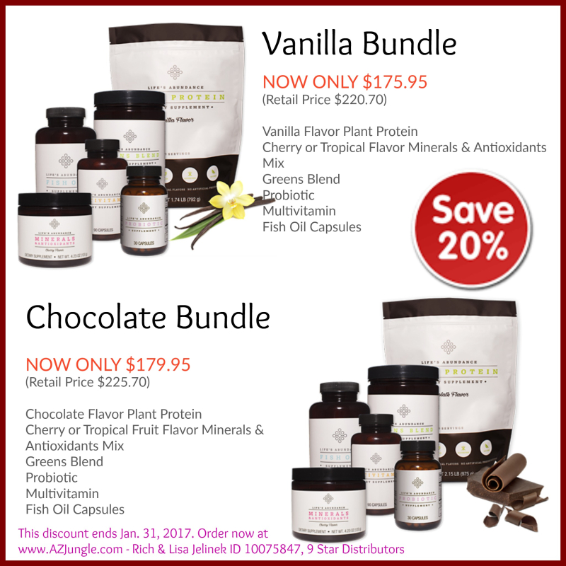 Life's Abundance Supplement Sale www.AZJungle.com
