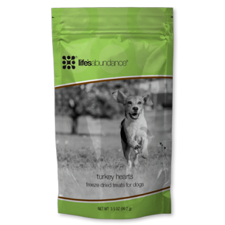 Turkey Hearts Freeze-Dried Dog Treats www.HealthyPetPeeps.com