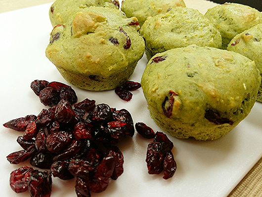 Verdant Cranberry Orange Muffins Recipe www.HealthyPetPeeps.com