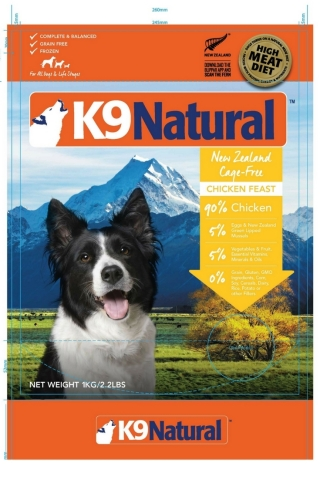 K9_Natural_Frozen_Chicken_Feast_2.2lb_Front Recall Stay updated at www.HealthyPetPeeps.com