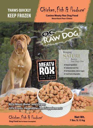 OC Raw Dog Recall Meaty Rox