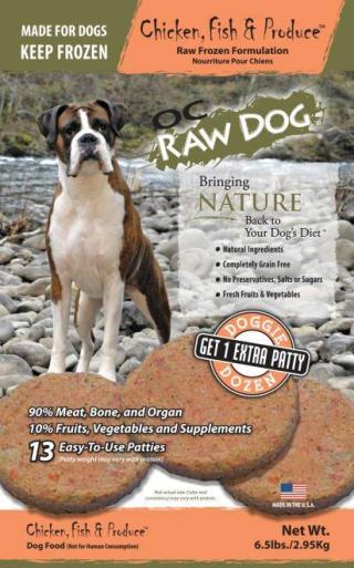OC Raw Dog Recall Doggie Patty www.HealthyPetPeeps.com