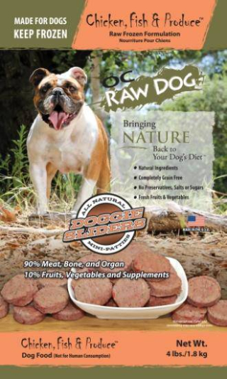 OC Raw Dog Sliders Recall www.HealthyPetPeeps.com