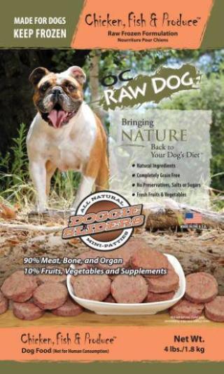 OC Raw Dog Sliders Recall www.HealthyPetPeeps.com