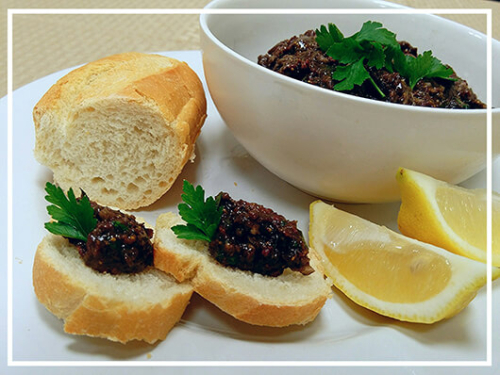 Blackberry Tapenade Recipe www.Health4UandPets.com