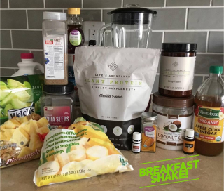 Breakfast Shake www.HealthyPetPeeps.com