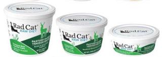RadCat Raw Cat Food Recall Venison www.HealthyPetPeeps.com