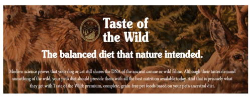 Taste of the Wild Class Action Lawsuit www.Health4UandPets.com