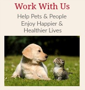 Work With Us www.PetFoodBusiness.com