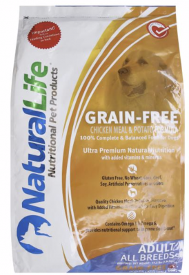 Natural Life Chicken & Potato Dry Dog Food Recall www.HealthyPetPeeps.com