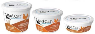 RadCat Raw Cat Food Recall Chicken www.HealthyPetPeeps.com