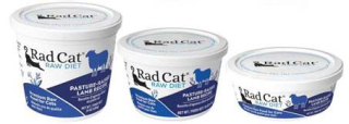 RadCat Raw Cat Food Recall Lamb www.HealthyPetPeeps.com
