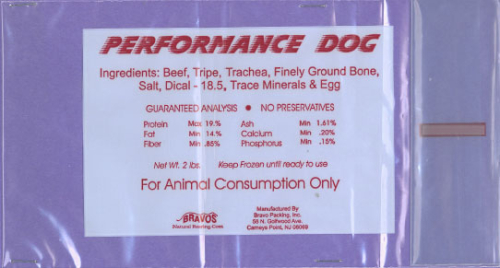 Bravo Performance Dog Raw Diet Recall www.HealthyPetPeeps.com