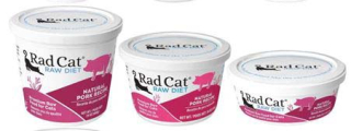 RadCat Raw Cat Food Recall Pork www.HealthyPetPeeps.com
