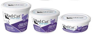 RadCat Raw Cat Food Recall Turkey www.HealthyPetPeeps.com