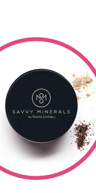 Savvy Minerals Foundation www.EssentialOils4Sale.com