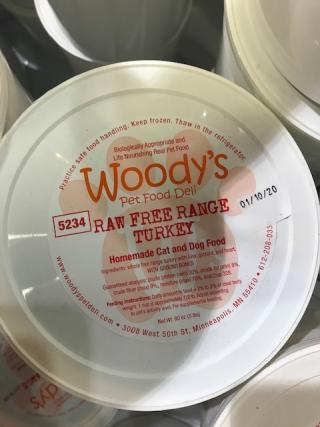 Woody's Pet Food Deli Raw Food Recall www.HealthyPetPeeps.com