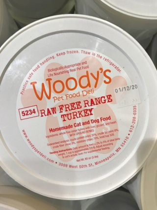 Woody's Pet Food Deli Raw Food Recall Dog and Cat Food www.HealthyPetPeeps.com