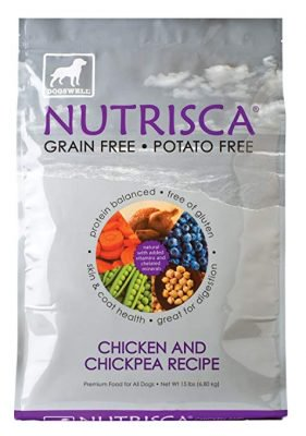 Nutrisca chicken and chickpea dog food recall www.HealthyPetPeeps.com