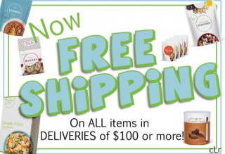 Free Shipping on Deliveries $100 or more www.HealthyEasyFood.com
