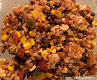 Mexican Chicken And Rice Skillet from www.HealthyEasyFood.com