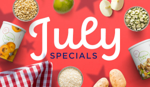 July Thrive Specials www.HealthyEasyFood.com