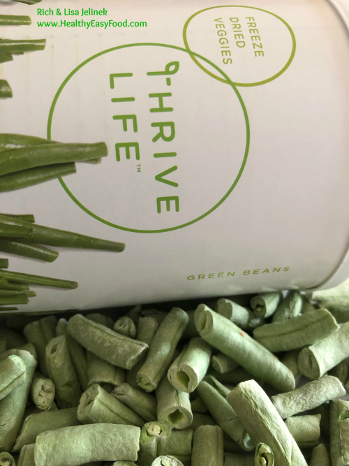 Green Beans Thrive Life www.HealthyEasyFood.com