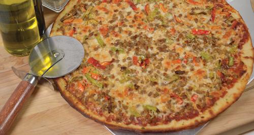 Gluten Free Pizza www.HealthyEasyFood.com