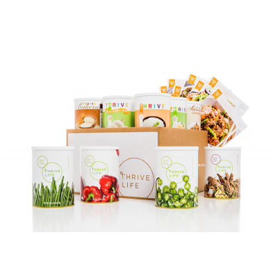 Thrive Life Pulled Pork Chef Pack www.HealthyEasyFood.com