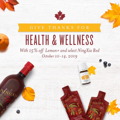 Canada Thanksgiving special www.EssentialOils4Sale.com