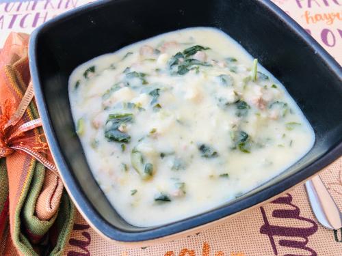 Meals In A Jar Zuppa Toscana Recipe www.HealthyEasyFood.com