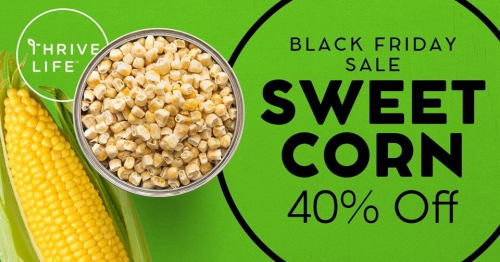 Sweet Corn 40% off www.HealthyEasyFood.com