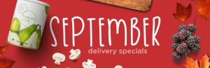 September Thrive Sales