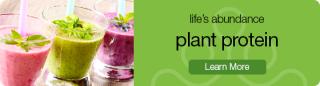 Lifes Abundance Plant Protein Drink www.Healthy4UandPets.com