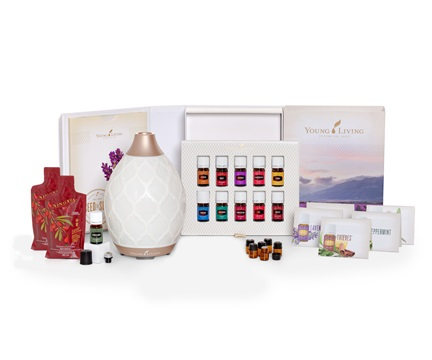 Young Living Malaysia Premium Starter Kit with Desert Mist Diffuser www.EssentialOils4Sale.com