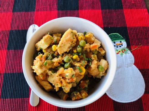 Chicken Potato and Veggie Stew www.HealthyEasyFood.com